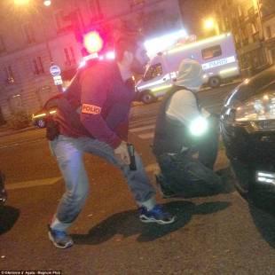 poliziotti prima dell irruzione al bataclan