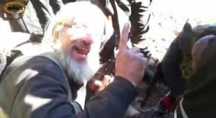 ribelli siriani esultano per la morte del pilota del jet russo abbattuto 2