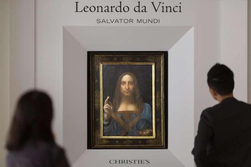 LEONARDO DA VINCI - SALVADOR MUNDI