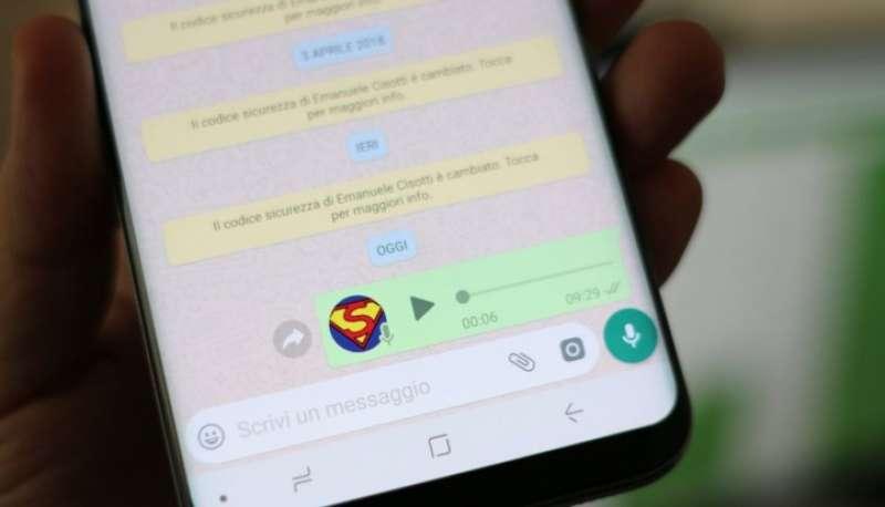 messaggio vocale 6