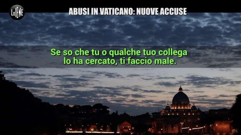 il servizio delle iene sugli abusi ai chierichetti del papa in vaticano 1