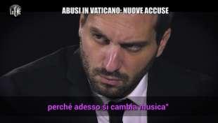 il servizio delle iene sugli abusi ai chierichetti del papa in vaticano 7