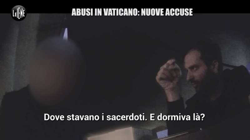 il servizio delle iene sugli abusi ai chierichetti del papa in vaticano 8