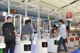 riconoscimento facciale in aeroporto 2