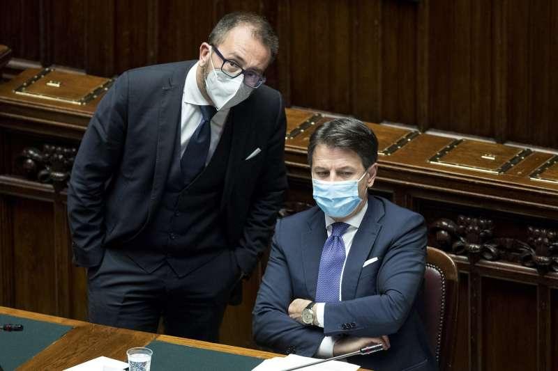 ALFONSO BONAFEDE GIUSEPPE CONTE