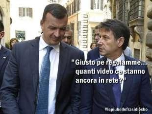 Conte Casalino meme Osho