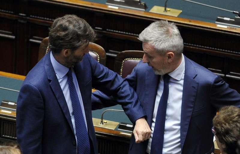 Dario Franceschini Lorenzo Guerini