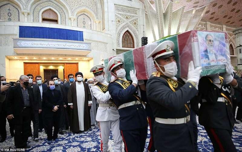 funerale di moshen fakhrizadeh