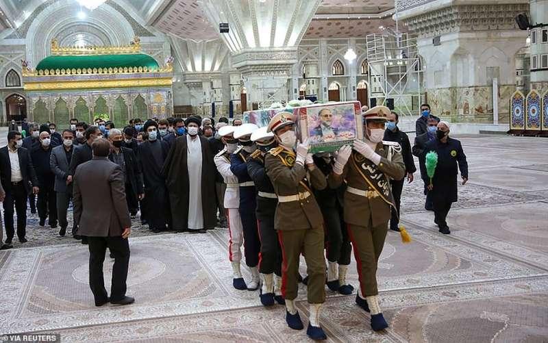 funerale di moshen fakhrizadeh 20