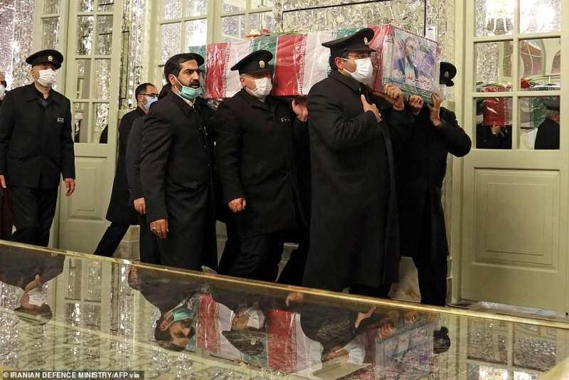 funerale di moshen fakhrizadeh a teheran 1