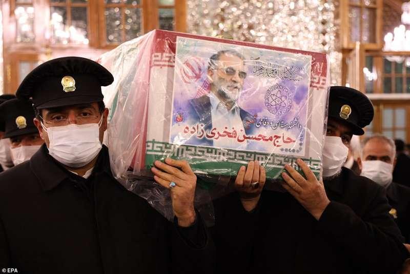 funerale di moshen fakhrizadeh a teheran