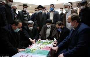 funerale di moshen fakhrizadeh a teheran 3