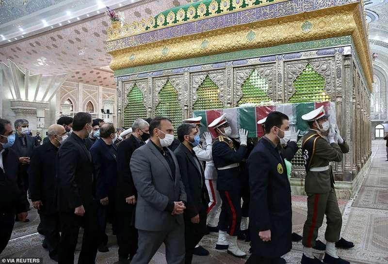 funerale di moshen fakhrizadeh a teheran 4