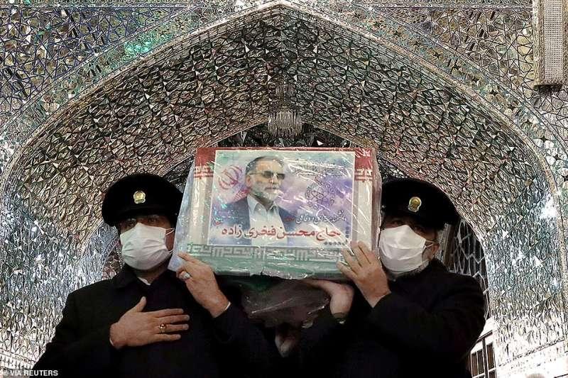 funerale di moshen fakhrizadeh a teheran 5