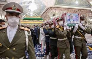 funerale moshen fakhrizadeh