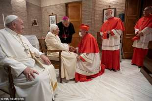 i nuovi cardinali incontrano ratzinger