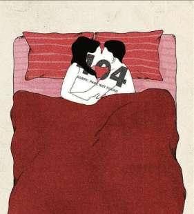 i ragazzi e il sesso illustrazione di giulia rosa