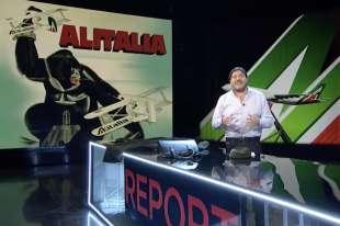 la puntata di report su alitalia etihad