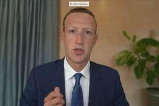 mark zuckerberg in audizione al senato