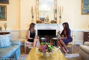 michelle obama e melania trump
