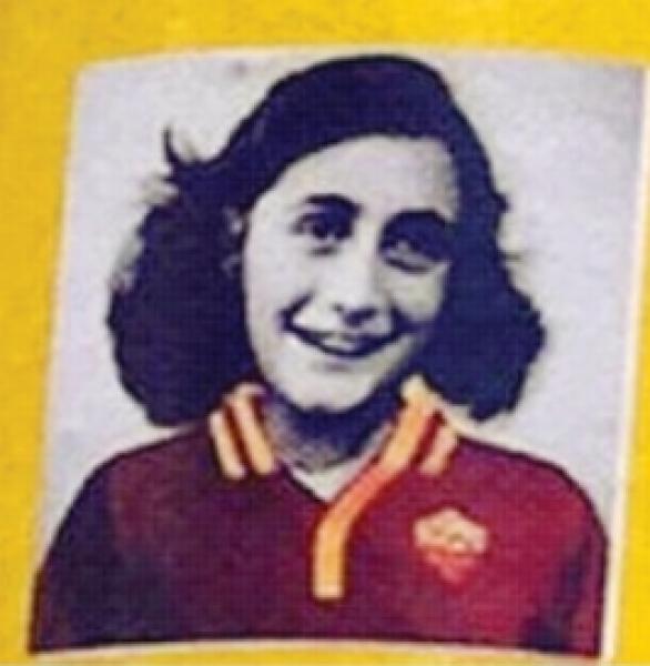 ANNA FRANK MAGLIETTA ROMA