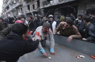 UN FERITO NEGLI SCONTRI IN SIRIA