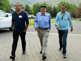LACHLAN RUPERT E JAMES MURDOCH ALLA SUN VALLEY CONFERENCE