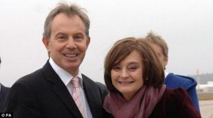 TONY E CHERIE BLAIR