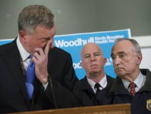 de blasio bill bratton