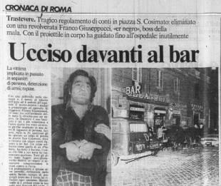 franco giuseppucci Messaggero1980