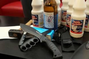 le armi trovate a casa di alexander boettcher