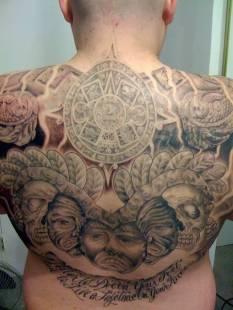 """mexican mafia"" aztec tattoos design images (12)"