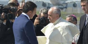 renzi papa bergoglio 1