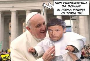 renzi papa bergoglio 5