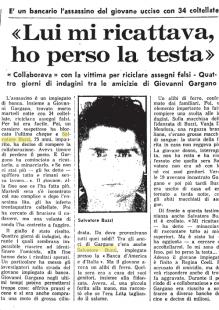SALVATORE BUZZI OMICIDA SULL UNITA DEL 1980