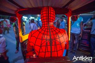spiderman sul tok tok