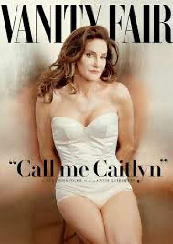 caitlyn jenner sulla cover di vanity fair