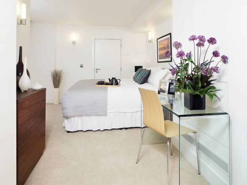 Camera da letto di un loft di lusso per studenti - Dago ...