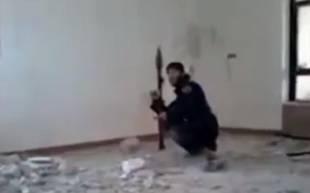 il jihadista con il suo rpg
