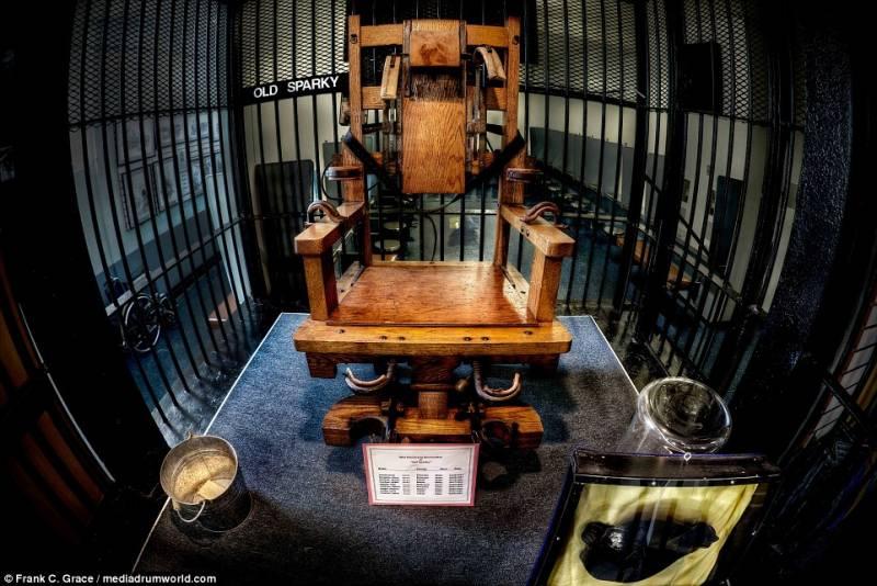 La sedia elettrica del carcere dago fotogallery for Sedia elettrica esecuzione reale