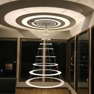 albero di natale ufo