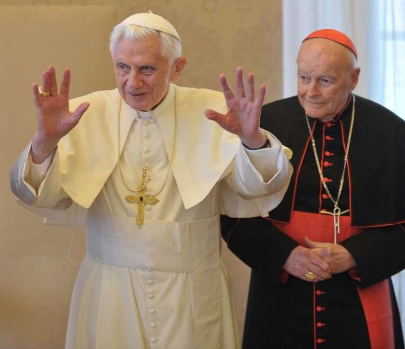 McCarrick, con Benedicto XVI