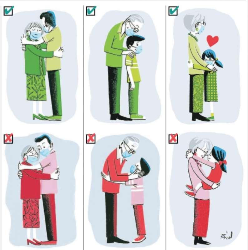 abbracci sul Journal du Dimanche -1