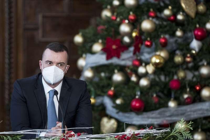 Rocco Casalino conferenza stampa di fine anno di giuseppe conte 22