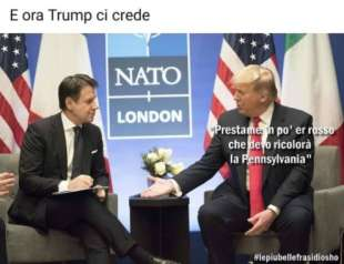 giuseppe conte donald trump by osho