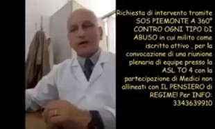 Giuseppe Delicati medico negazionista