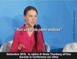 greta thunberg by osho