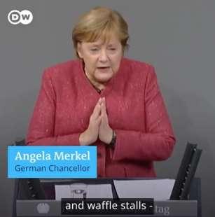 l appello di angela merkel ai tedeschi per il natale 1