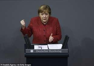 l appello di angela merkel ai tedeschi per il natale