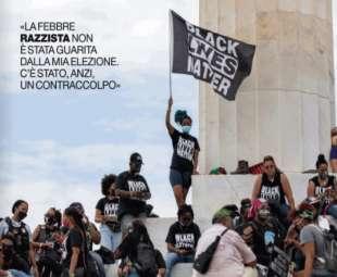 manifestazione black lives matter al lincoln memorial 28 agosto 2020